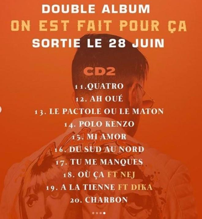 Naps dévoile la date et la tracklist de son prochain double album avec des feats incroyables !